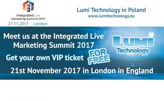 Lumi Integrated Live 2017 London VIP tickets