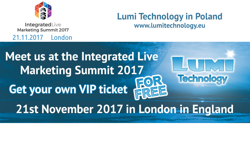 Lumi Integrated Live 2017 London VIP tickets